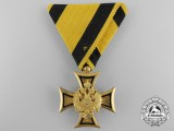 An Austrian Military Long Service Decoration to Von Den Offiz