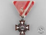 A German Made Austrian Military Merit Cross by Sedlatzer