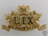 A 59th Stormont & Glengarry Badge c.1888-1904