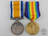 A First War Medal Pair to the Canadian Labour Battalion