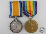 A First War Medal Pair to the the 5th Canadian Infantry Battalion