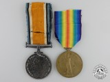 A First War Medal Pair to the 8th Canadian Infantry Battalion; The Black Devils