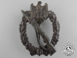 A Mint Bronze Grade Infantry Badge by Ferdinand Wiedmann