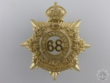 A 68th King's County Regiment Cap Badge