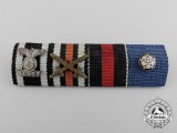 A German & Finnish Second War Ribbon Bar