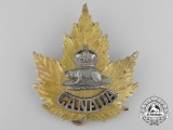 A Rare Canadian Police Officer's Helmet Badge Designed for the 1937 Coronation