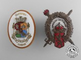 Two Bulgarian Badges