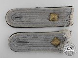 A Pair of SS Infantry Obersturmführer's Shoulder Boards