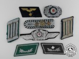 Eight Assorted Second War Period German Insignia