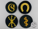 Four Army (Heer) Trade and Proficiency Badges