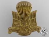 A Second War Canadian Parachute Corps Cap Badge
