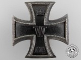 An First Class Iron Cross 1914; Silver Screwback