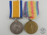 A First War Medal Pair to Private Crawford who was Wounded at St.Julien & Tortured as a POW