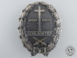 A Freikorps Schlageter Badge; Second Type