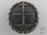 A 1923-24 Schlageter Badge; First Version
