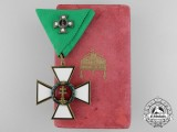 A Hungarian Order of Merit; Knight's Cross (4th Class)