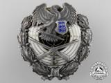 An Estonian Military Marksmanship Badge by Roman Tavast Tallinn