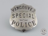 A Vancouver Special Police Badge