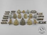 A Lot of Twenty-Seven Canadian Second War Period Badges