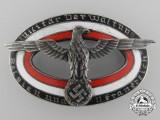 """A Wehrmacht Service Badge """"Militar Verwaltung"""""""