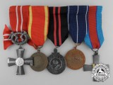 A Finnish Second World War Air Force Cross Medal Group