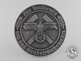 A Scarce Mine Rescue Service Decoration with Box of Issue