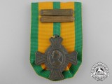 A Second War Dutch Commemorative War Cross; 2 Clasps