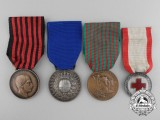 Four Italian Medals, Decorations, and Awards