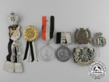 Seven German Imperial Badges and Medals