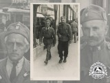 "A Fine Photo of Ustasha Men Wearing Extremely Rare Badge ""5th December 1918"""