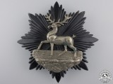 A Bedfordshire Regiment Helmet Plate