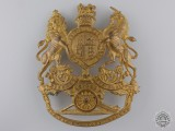 A British King's Crown Royal Artillery Officer's Helmet Plate  Consignment 27