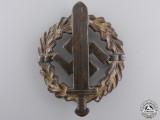 A Bronze Grade SA Defense Badge by Fechler