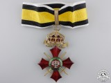 A Bulgarian Order of Military Merit; Commander's Cross