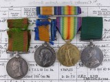 A Canadian Afghanistan Campaign & First War Medal Grouping