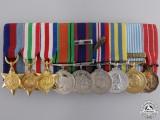 A Canadian Second War & Korean Service Miniature Group