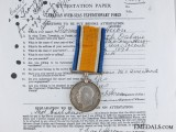 A Canadian War Medal to Captain Heron; 9th Field Ambulance