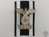 A Clasp to the Iron Cross 2nd Class 1939; First TypeA Clasp to the Iron Cross 2nd Class 1939; First Type