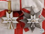 A Croatian Order of King Zvonimir; Grand Cross Set
