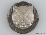A Czechoslovakian Artilleryman's Proficiency Badge