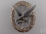 A Early Radio Operator & Air Gunner Badge by Assmann