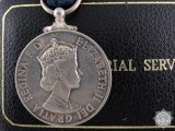 A Elizabeth II Imperial Service Medal to H.C. Wherly