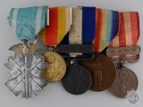 A Fine First War & Korean Annexation  Japanese Medal Bar