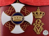 A Fine Italian Order of the Crown in Gold