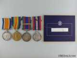 A First & Second War Memorial Group to the 18th Canadian Infantry