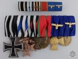 A First & Second War German Long Service Medal Bar