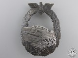 A First Pattern Kriegsmarine E-Boat Badge; French Made