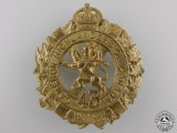 A First War 43rd Infantry Battalion Glengarry Badge