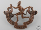 "A First War 8th Infantry Battalion ""The Black Devils"" Cap Badge"