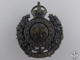 A First War 95th Saskatchewan Rifles Badge